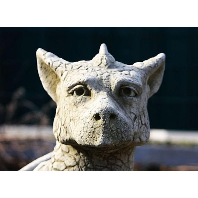 Steinfigur Drachen Eryl Ebay